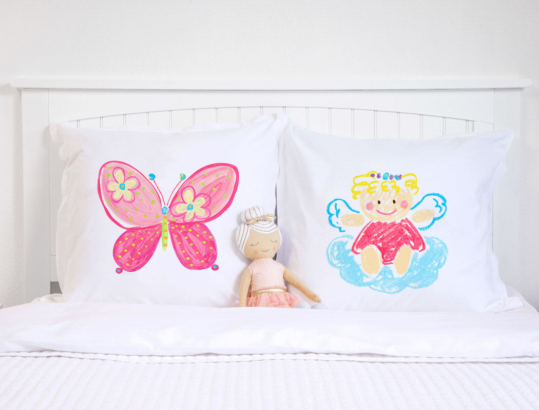 Angelina - Personalized Kids Pillowcase Collection