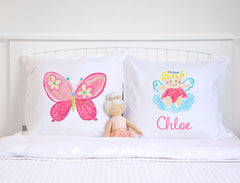 Angel - Personalized Kids Pillowcase Collection