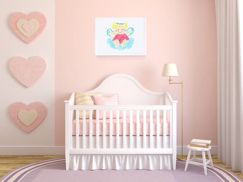Angelina Kids Wall Decor Di Lewis Kids Bedroom Decor