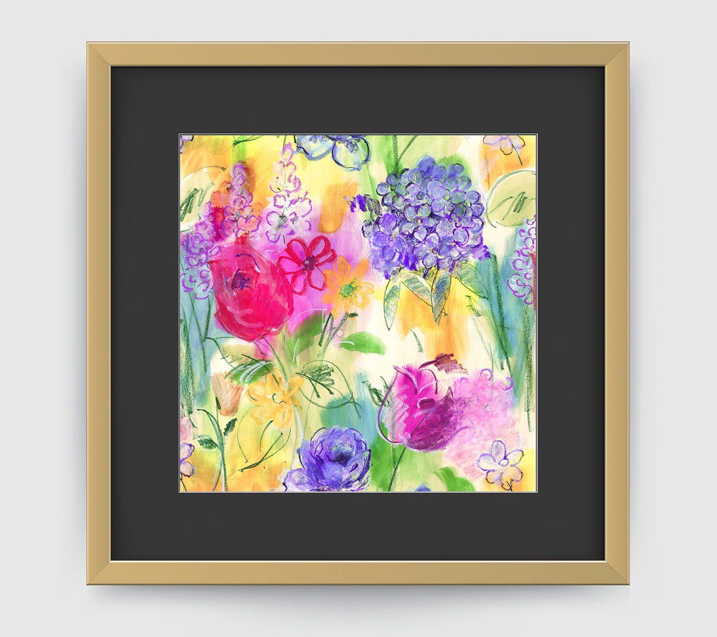 Arabella Impressionist Art Print Di Lewis Living Room Wall Decor