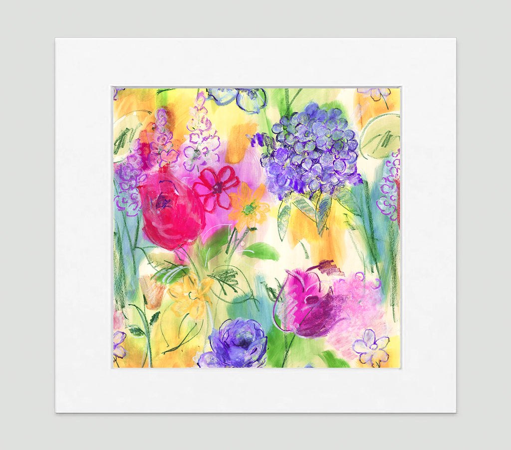 Arabella Art Print - Impressionist Art Wall Decor Collection-Di Lewis