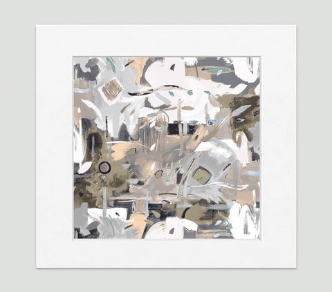 Aruba Art Print - Abstract Art Wall Decor Collection-Di Lewis