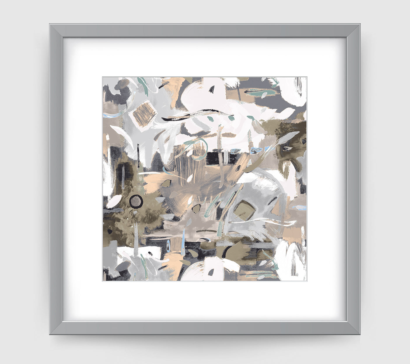 Aruba Abstract Art Print Di Lewis Living Room Wall Decor