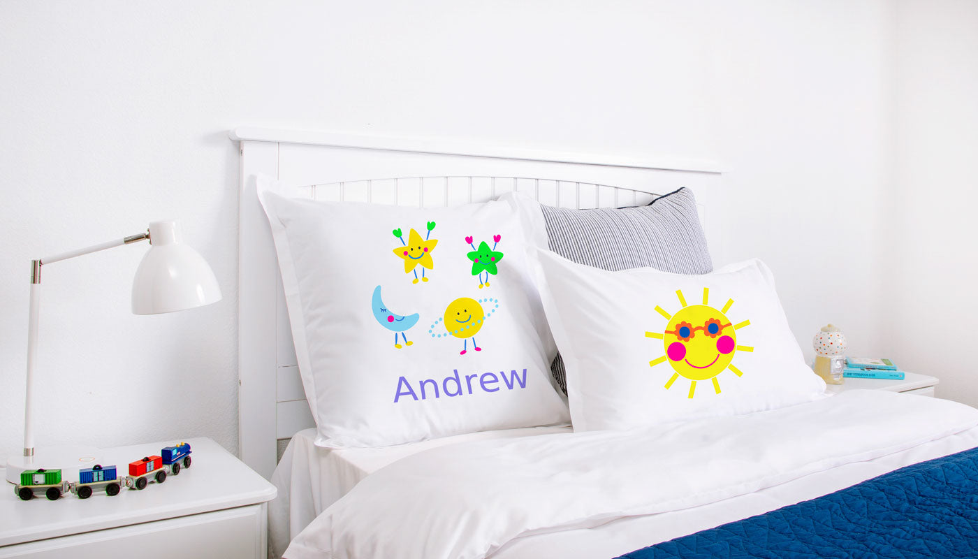 Astro - Personalized Kids Pillowcase Collection
