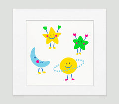 Astro Art Print - Kids Wall Art Collection-Di Lewis