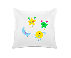 Astro Moon Stars - Personalized Kids Pillowcase Collection