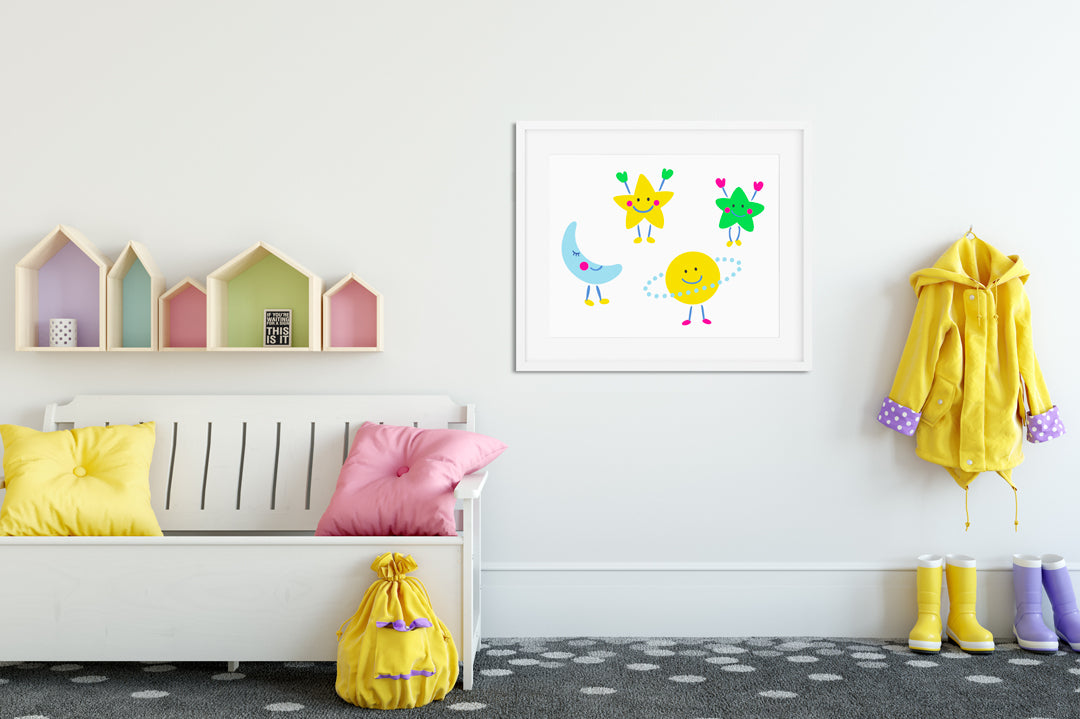 Astro Kids Wall Decor Di Lewis Kids Bedroom Decor