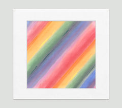 Aurora Multi Art Print - Abstract Art Wall Decor Collection-Di Lewis