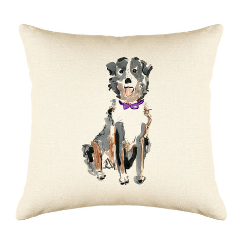 Sheldon Shepard Throw Pillow Cover - Dog Illustration Throw Pillow Cover Collection