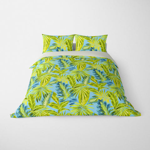 BAHAMA TROPICAL DUVET COVER OCEAN – DUVET COVER & PILLOW SHAM COLLECTION