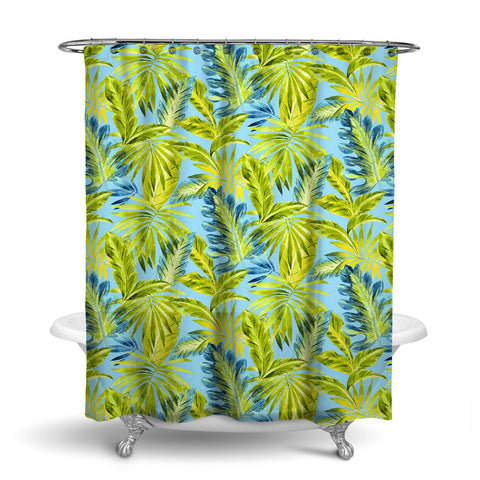 BAHAMA TROPICAL SHOWER CURTAIN OCEAN – SHOWER CURTAIN COLLECTION