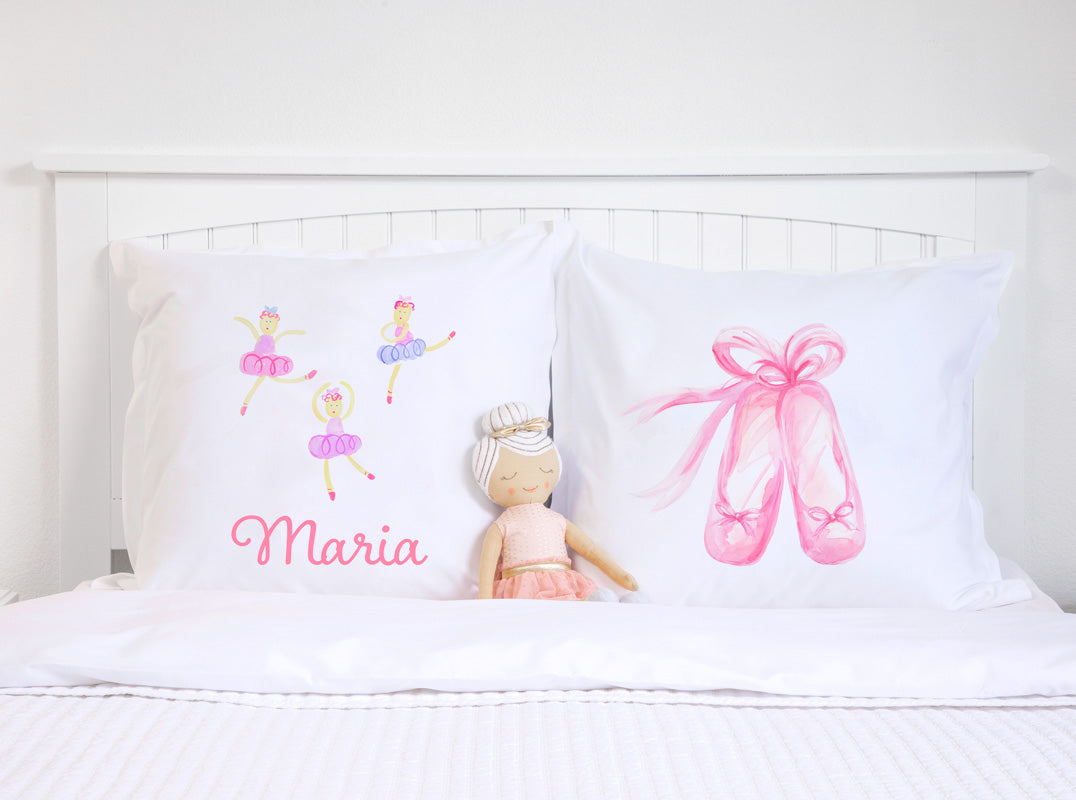 Ballerinas - Personalized Kids Pillowcase Collection