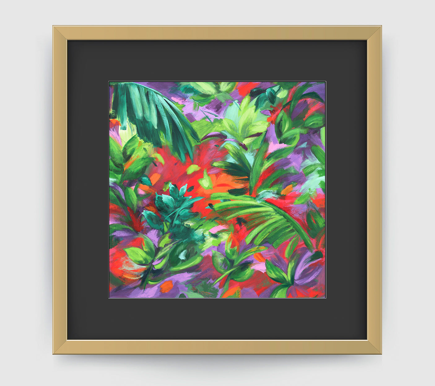 Barbados Impressionist Art Print Di Lewis Living Room Wall Decor