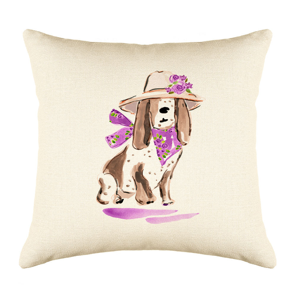 Betsy Bassett Throw Pillow Cover
