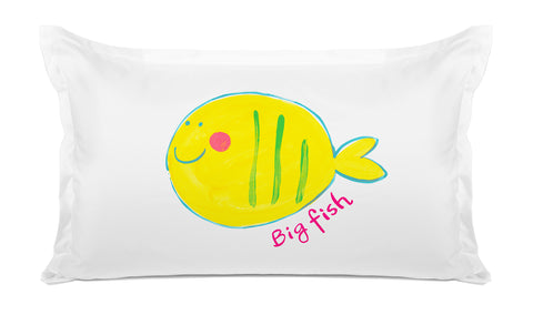Big Fish Kids Pillow Di Lewis Kids Bedding