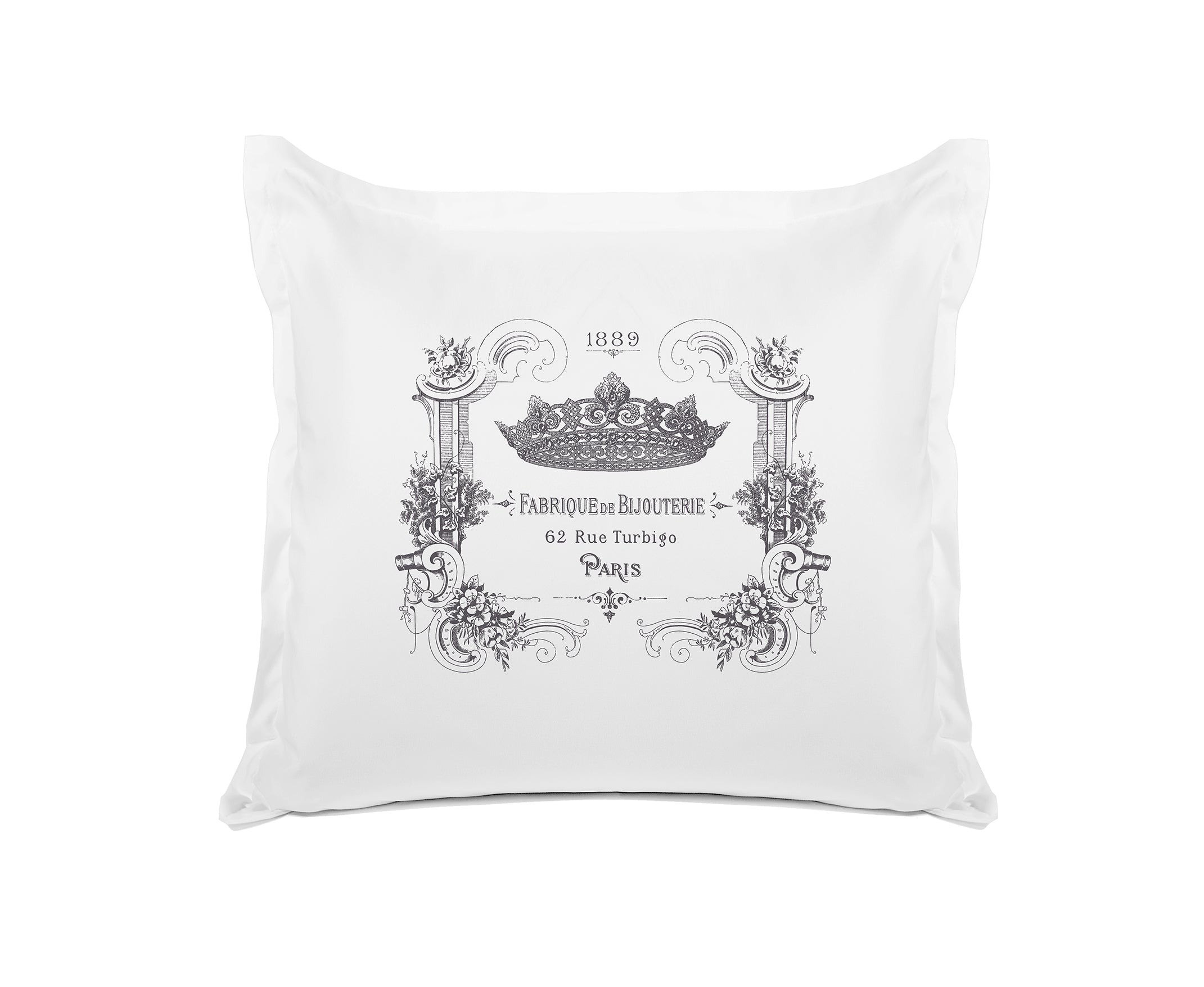 Bijou Crown - Decorative Pillowcase Collection-Di Lewis