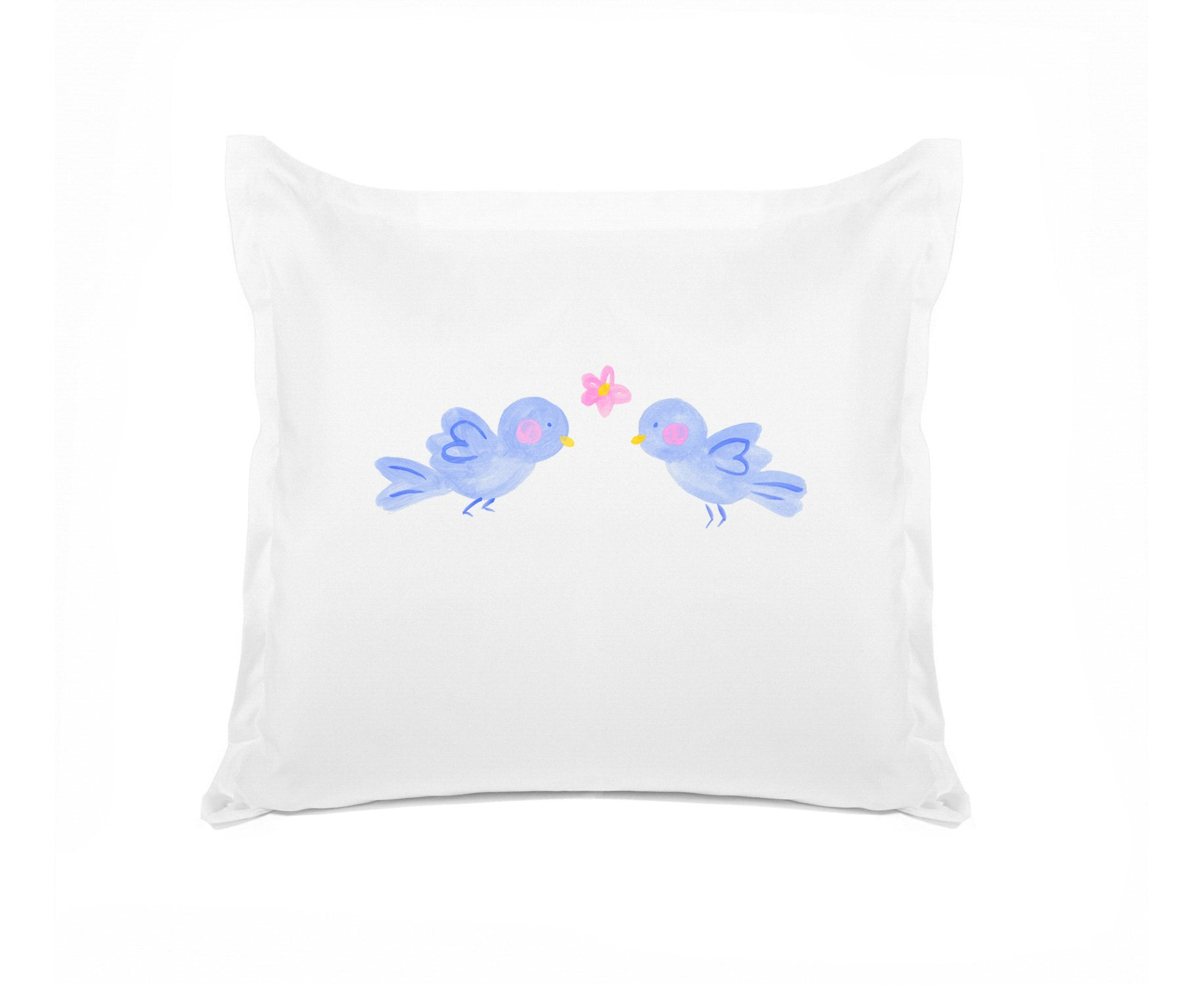 Bluebirds - Personalized Kids Pillowcase Collection