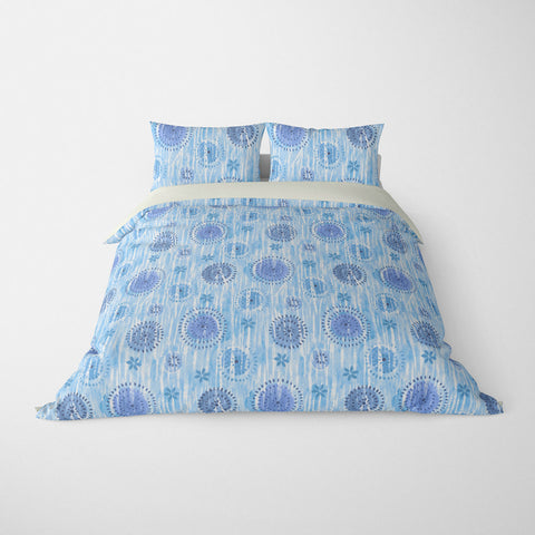 BOCA ABSTRACT DUVET COVER BLUE – DUVET COVER & PILLOW SHAM COLLECTION