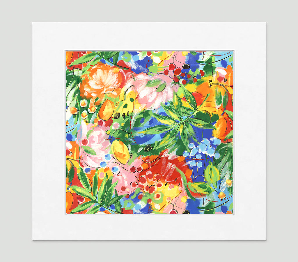 Bora Bora Art Print - Impressionist Art Wall Decor Collection-Di Lewis