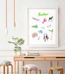Boston Art Print
