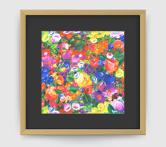 Botanique Impressionist Art Print Di Lewis Living Room Wall Decor