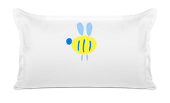Buzzy Bee Kids Pillow, Personalized Pillow case, Di Lewis Kids Bedding