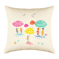 By the Sea Throw Pillow Cover - Coastal Designs Throw Pillow Cover Collection-Di Lewis