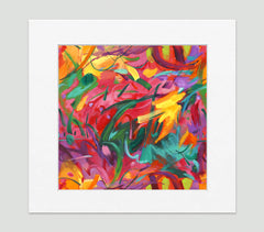Carnivale Art Print - Abstract Art Wall Decor Collection-Di Lewis