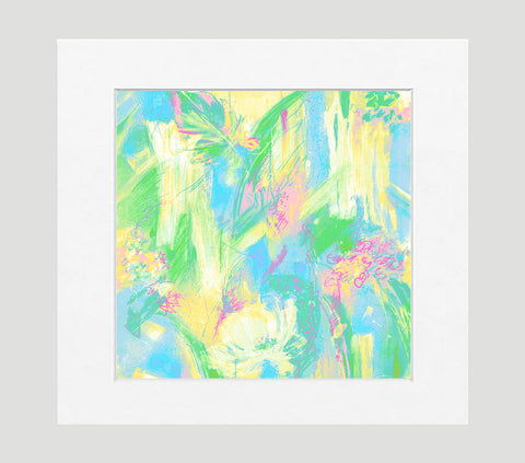 Chantelle Abstract Art Print Di Lewis Living Room Wall Decor