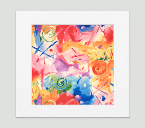 Cirque Art Print - Abstract Art Wall Decor Collection-Di Lewis