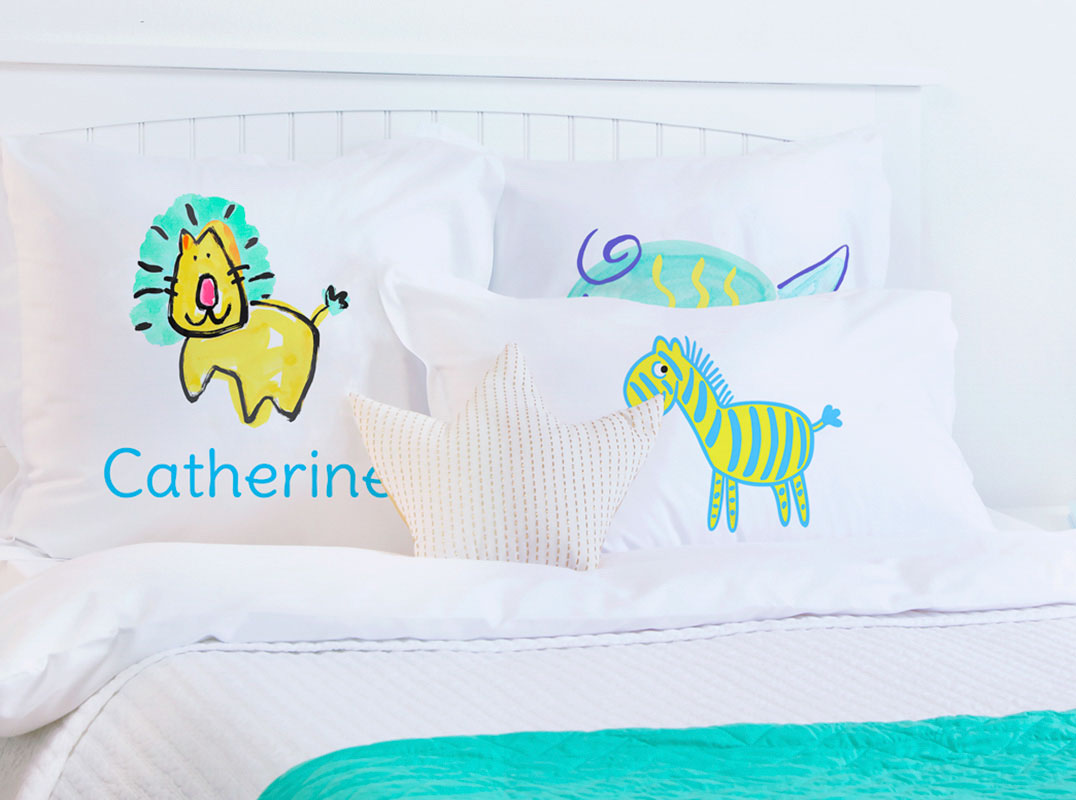 Cleopatra - Personalized Kids Pillowcase Collection-Di Lewis