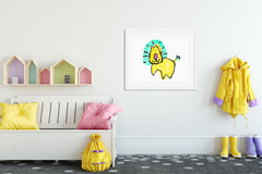 Cleopatra Art Print - Kids Wall Art Collection-Di Lewis
