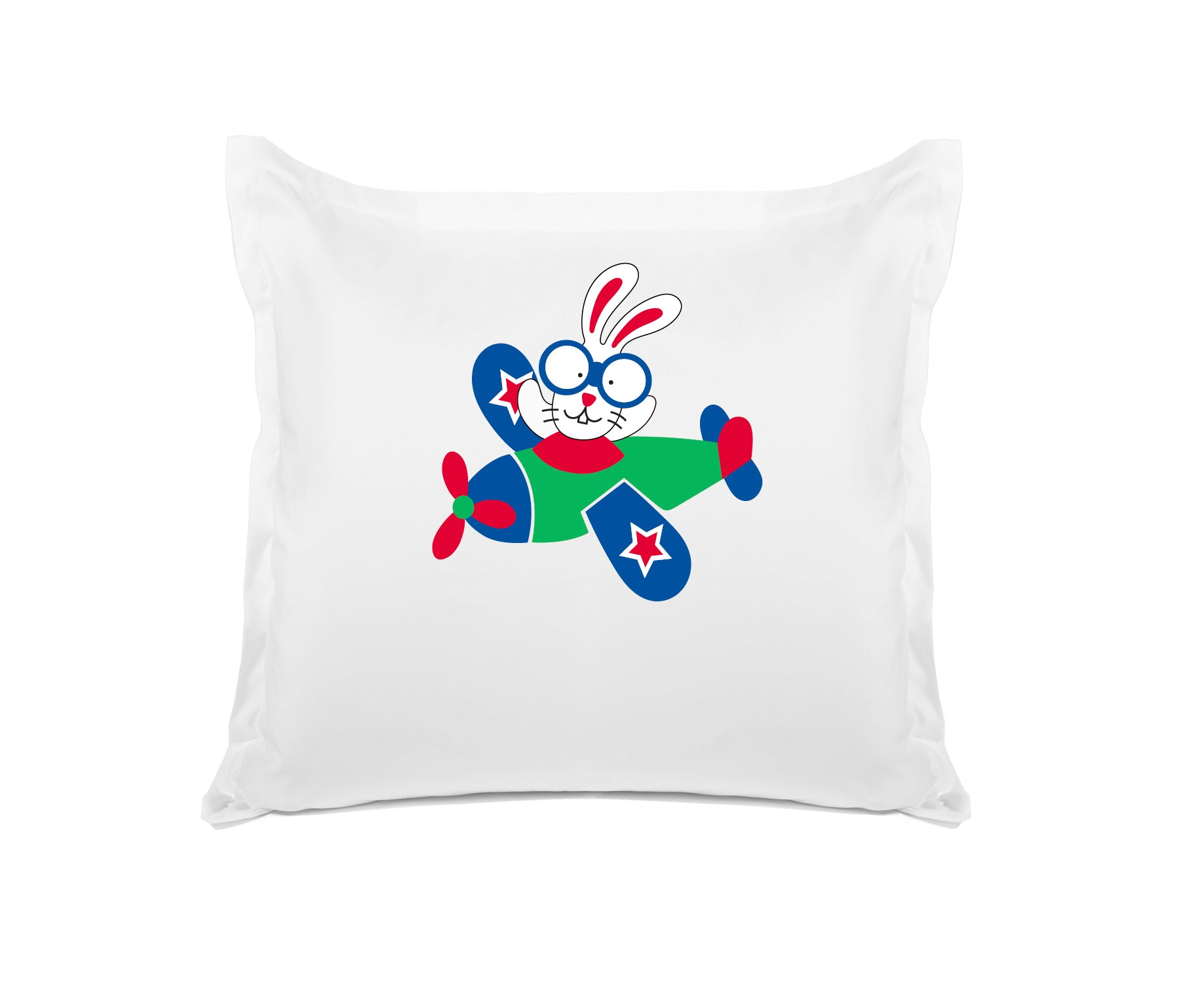 Come Fly with Me Kids Personalized Euro Sham Di Lewis Kids Bedding