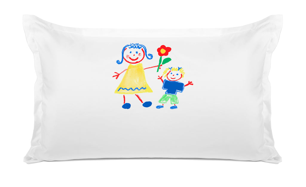 Come Play with Me Personalized Kids Pillow case, Di Lewis Kids Bedding