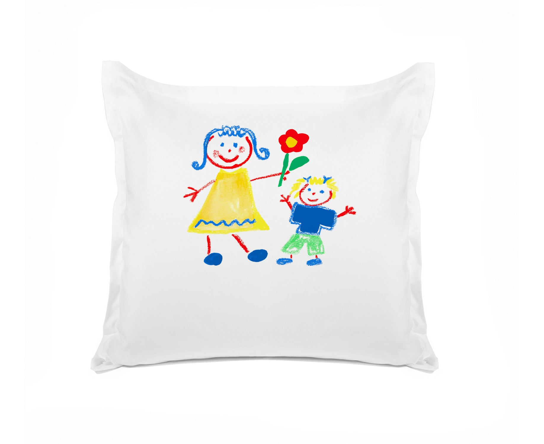Come Fly with Me Personalized Kids Euro Sham, Di Lewis Kids Bedding