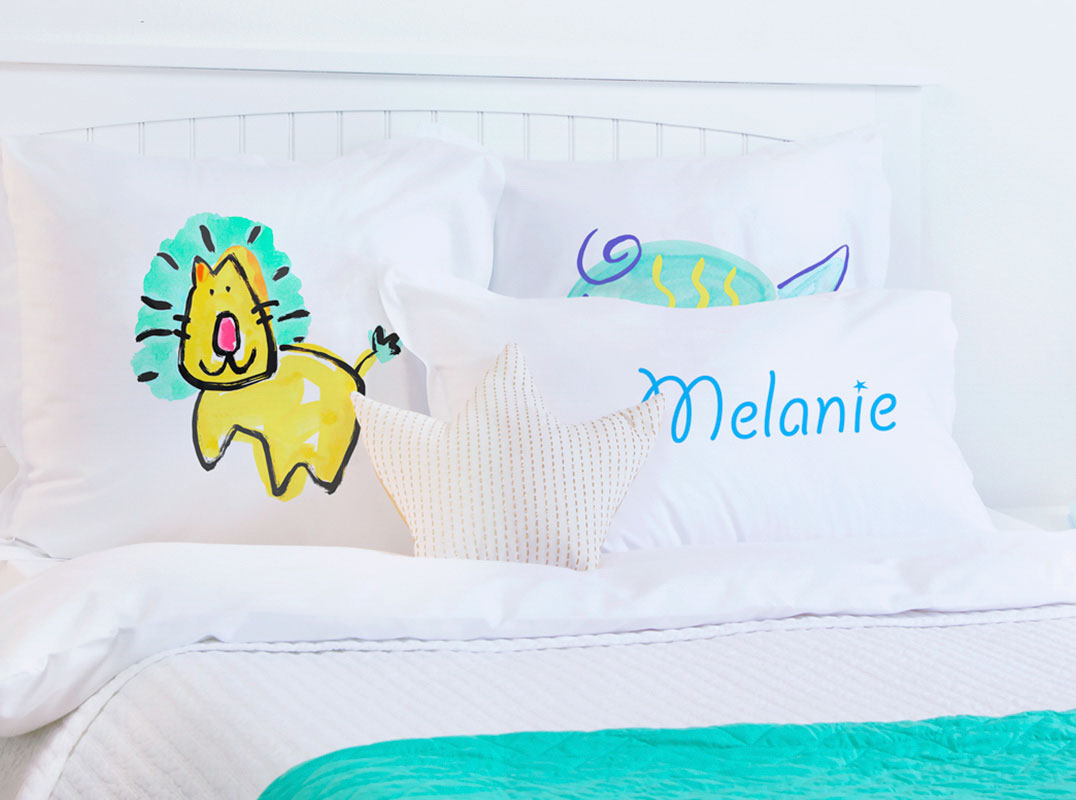 Lion - Personalized Kids Pillowcase Collection