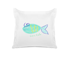 Cool Fish Kids Euro Sham Di Lewis Kids Bedroom Decor