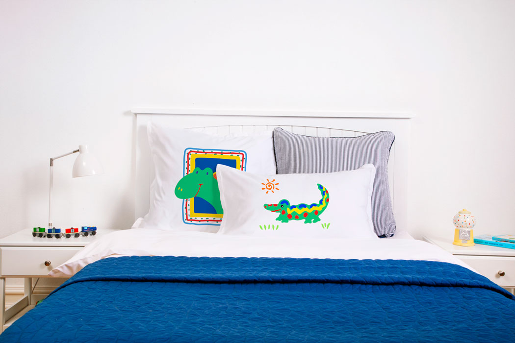 Crocodile Rock - Personalized Kids Pillowcase Collection