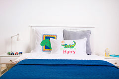 Crocodile Rock Pillow Case