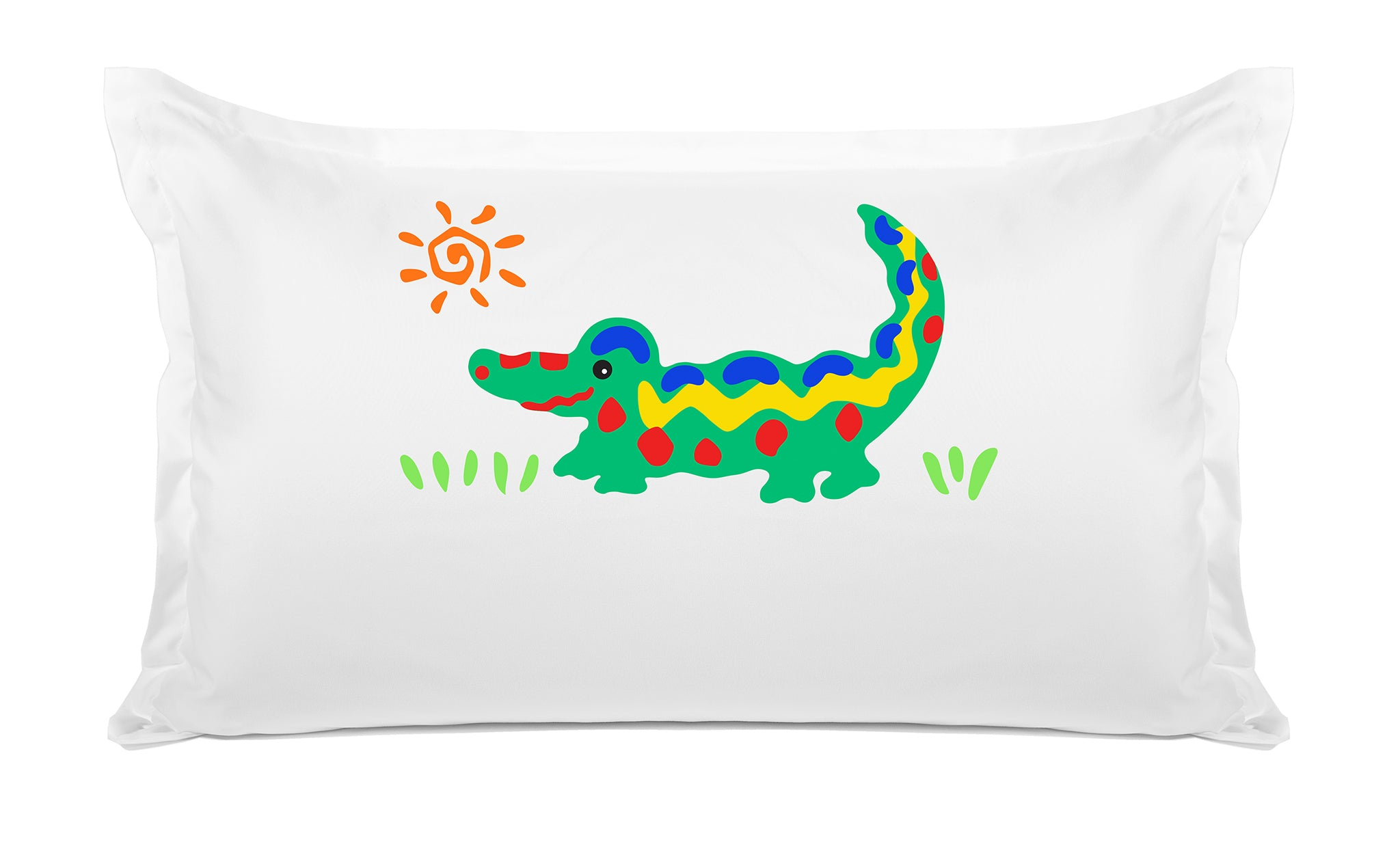 Crocodile Rock Personalized Kids Pillow case Di Lewis Kids Bedding