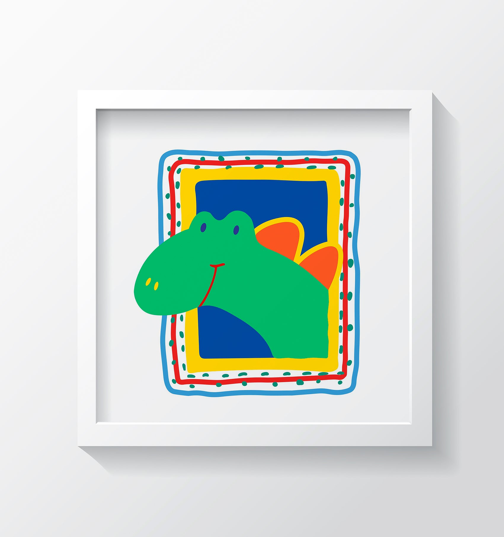 Dino Art Print - Kids Wall Art Collection-Di Lewis
