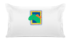Dino Personalized Kids Pillow case Di Lewis Kids Bedding