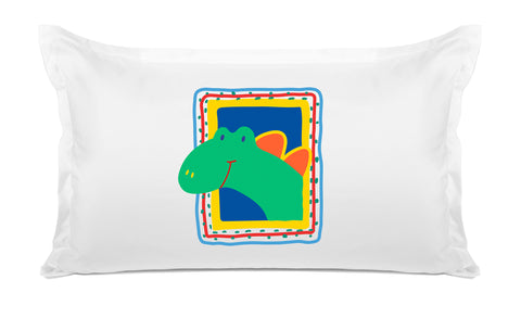 Dino Kids Pillow, Di Lewis Kids Bedding