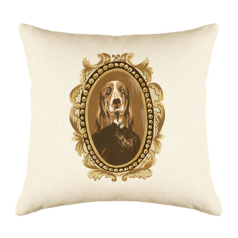 Doctor Bassett Throw Pillow Cover