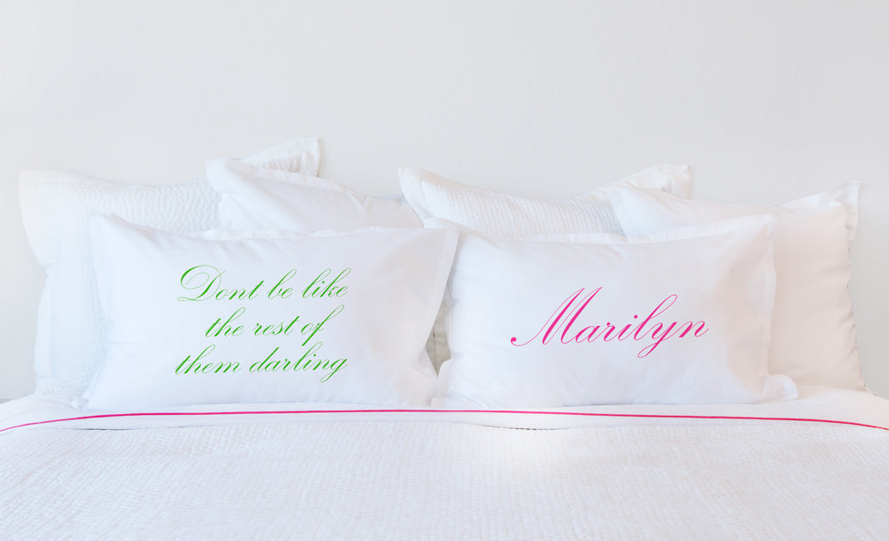 Elegant - Personalized Pillowcase Collection