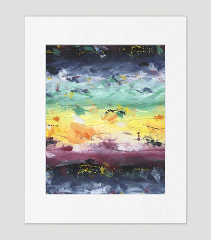 Elements Art Print - Abstract Art Wall Decor Collection-Di Lewis