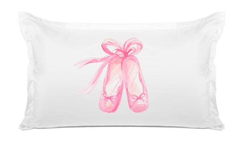 En Pointe Kids Pillow, Di Lewis Kids Bedding