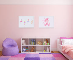 En Pointe Kids Wall Decor Di Lewis Kids Bedroom Decor