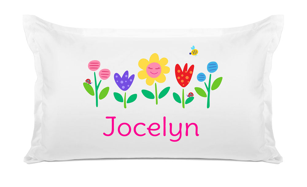 Flower Garden - Personalized Kids Pillowcase Collection