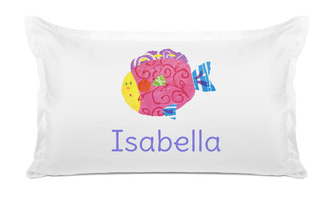 Fish - Personalized Kids Pillowcase Collection